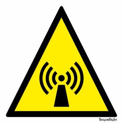 Peligro campo electromagnetico 86-0009N