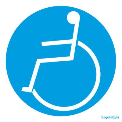 Reservado Discapacitados 86-5001N