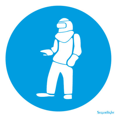 Uso obligatorio de ropa protectora 86-5012N